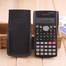 Портативный студенческий научный калькулятор 2 линии дисплей 82MS-B портативный многофункциональный калькулятор для обучения математике