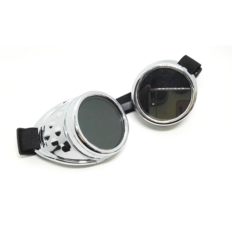 E0641 Hot sale retro style goggles welding sunglasses cosplay glasses 4 colors optional Motorcycle riding punk glasses
