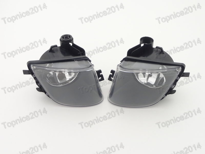 ФОТО 2Pcs Replacement Clear Lens Driving Fog Lights Lamps For BMW 7-Series F01 F02 2009-2012