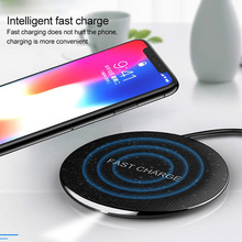 !ACCEZZ QI Fast Wireless Charger For Huawei Mate RS Samsung Galaxy S8 Note 9 Charging Pad Iphone 8 X XS MAX XR 10W