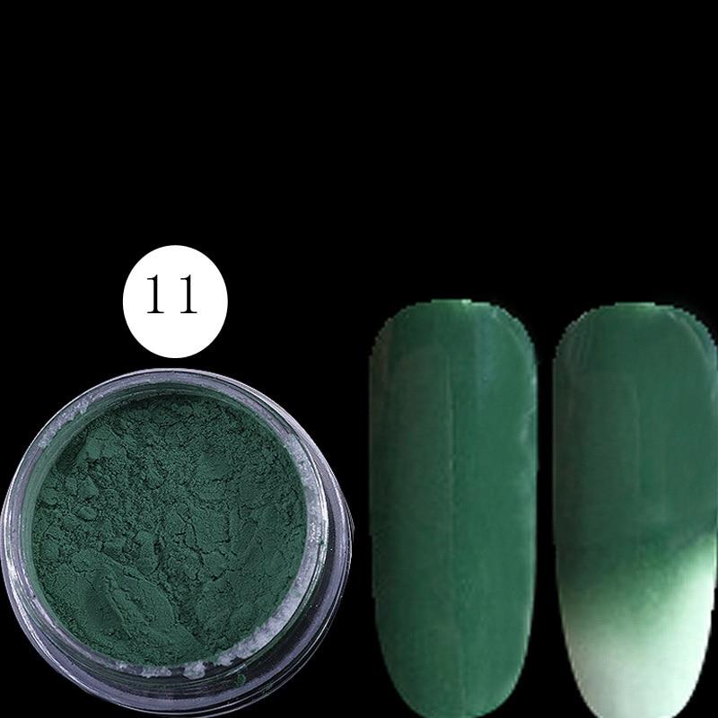 12jar/set pigmento termocrómico cambio de Color térmico temperatura ...