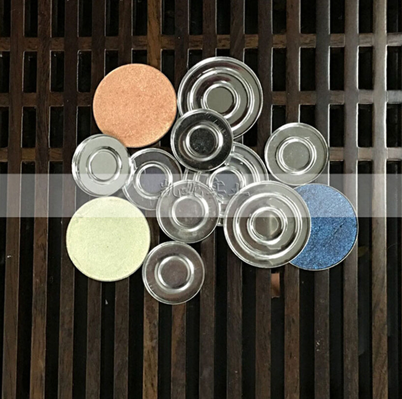 18pcs 26mm/36mm Round Iron Eyeshadow Pans DIY Eye shadow Empty Clamshell Can Hold On Our Magnetic Eyeshadow Palette Tightly