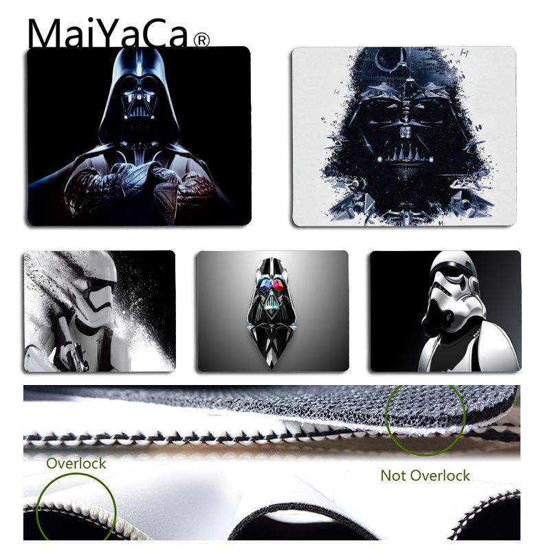 MaiYaCa High Quality personaggi di star wars High Speed New Mousepad Small Size Computer desktop Game Mouse Pad image
