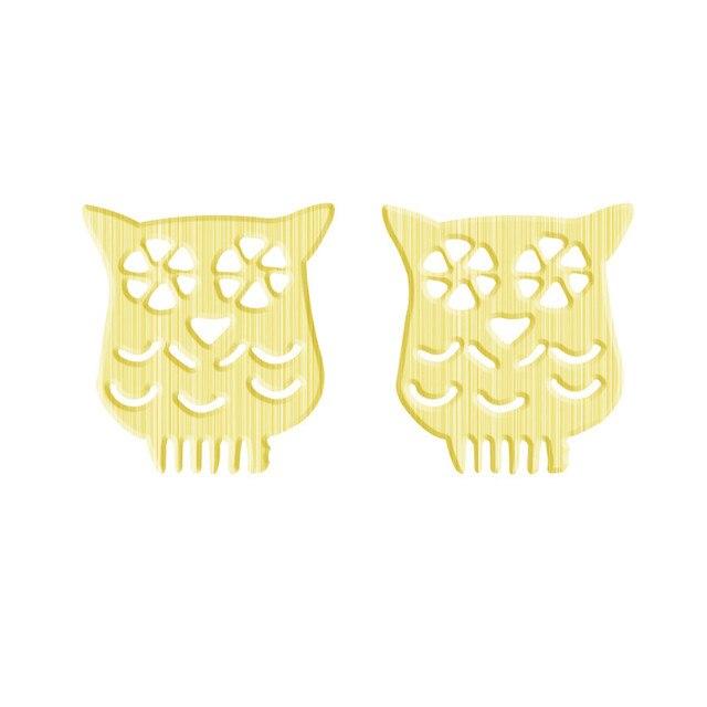 Bohemia Jewelry Stainless Steel Origami Owl Stud Earrings For Women