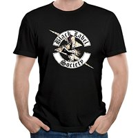 Men S Black Label Society Band Like A Bird Song Top Tees Short Sleeve Crew Neck