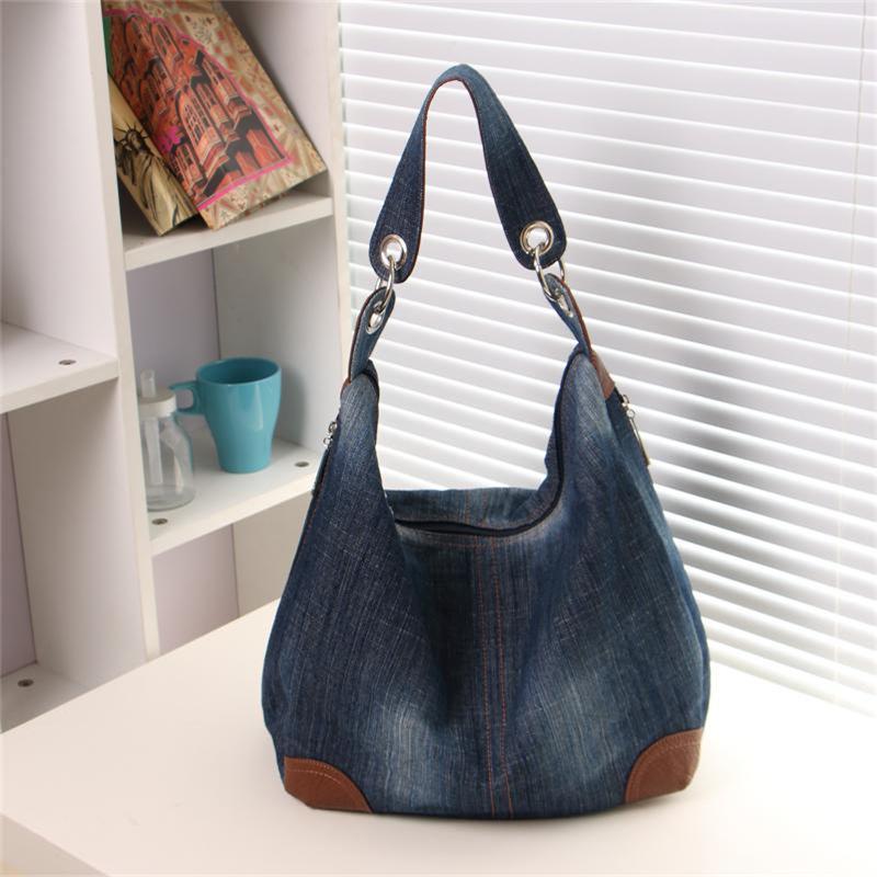 Online Buy Wholesale denim hobo bag from China denim hobo bag ...