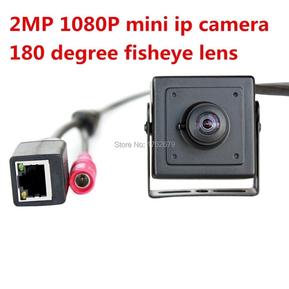 180 degree fisheye lens wide angle 2MP full HD cctv video POE ip webcam camera 1080p