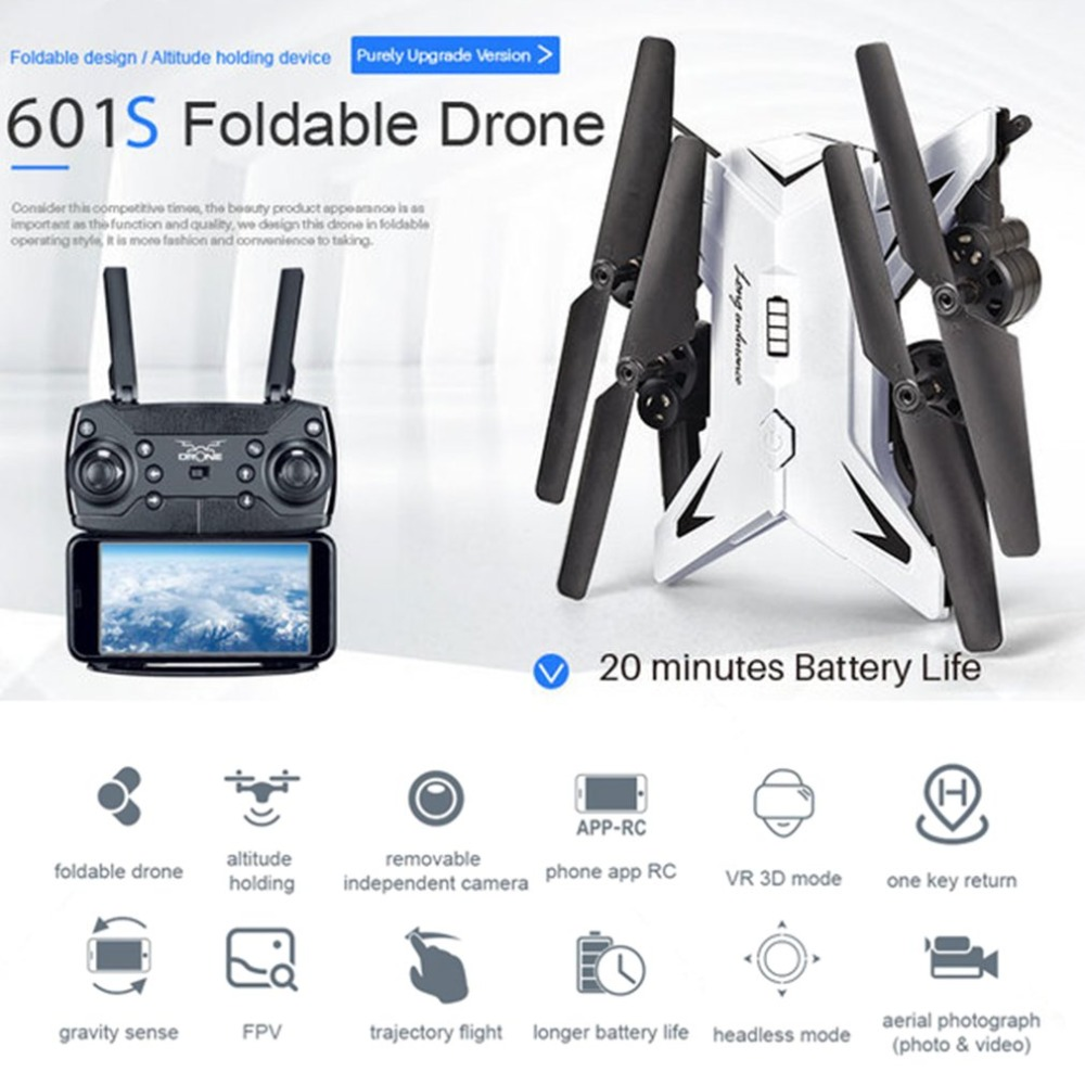 Professional KY601S HDRemote Control Quadcopter Camera Drone  1