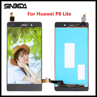 Sinbeda For Huawei P8 Lite 2016 LCD Display Touch Screen Glass Panel Digitizer Assembly Replacement For