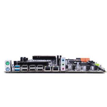 HUANANZHI X79 dual CPU motherboard LGA 2011 E-ATX USB3.0 SATA3 PCI-E NVME with dual Xeon processor