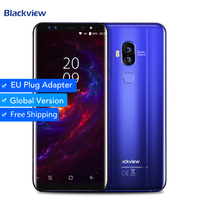 Blackview S8 4G B 6 4G B сотовый телефон четыре смартфон с камерой 5,7 дюймов mt6750t восемь ядер 1440*720 4G LTE отпечатков пальцев OTG Мобильный телефон