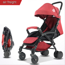 2018 new baby stroller ultra light shock absorber folding portable can sit lie baby young children kids simple mini umbrella 6KG цены
