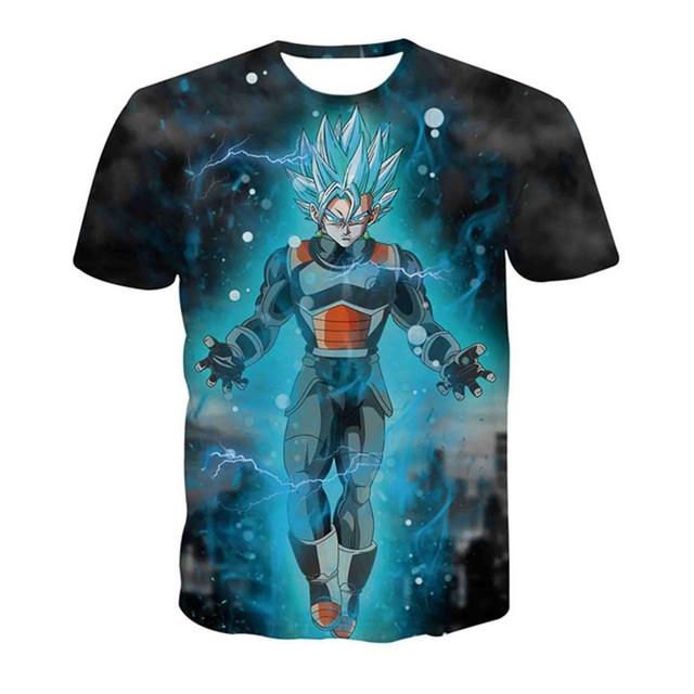 Super Saiyan Vegeta 3D T-Shirt