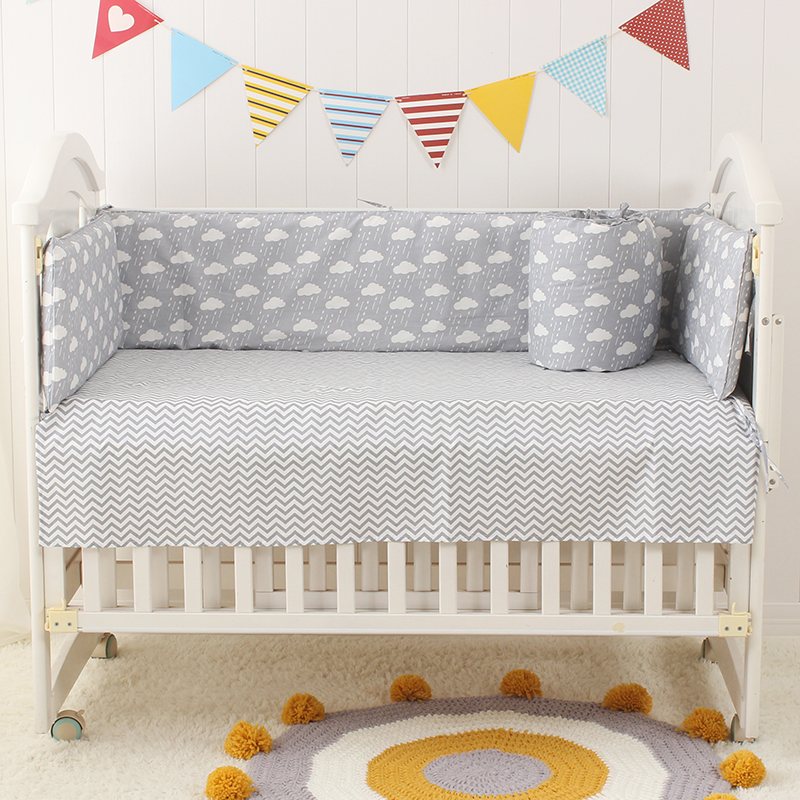 Multi-size Infant Baby Crib Cot Bed Linen 100% Cotton Detachable Baby Cot Bedding Set In a Crib For a Newborn Baby Girl Baby Boy hot selling ion cleanse detox foot spa for single use