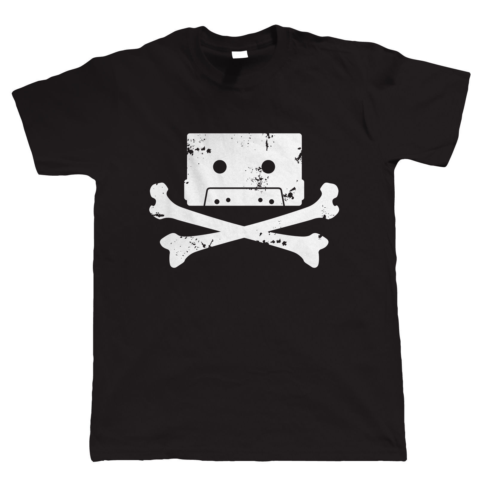 Cassette Pirate Mens DJ T Shirt