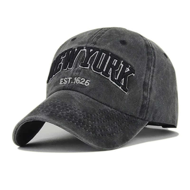 3c49e6d1 Vintage Washed 6 Panel Baseball Cap 100% Cotton Adjustable Strap Dad Hat  Snap Back for