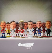 "Фотография 10PCS/LOT FOOTBALL 2.5"" Figurine (Mixed Order) Doll Toy Figure Shipping Free"