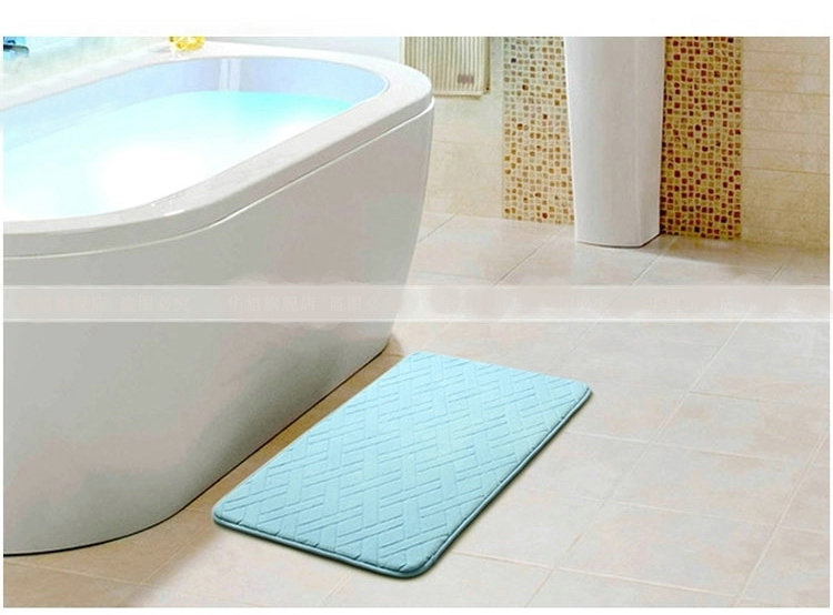 Nicerug Popular Fashion Design Memory Foam Rug Water
