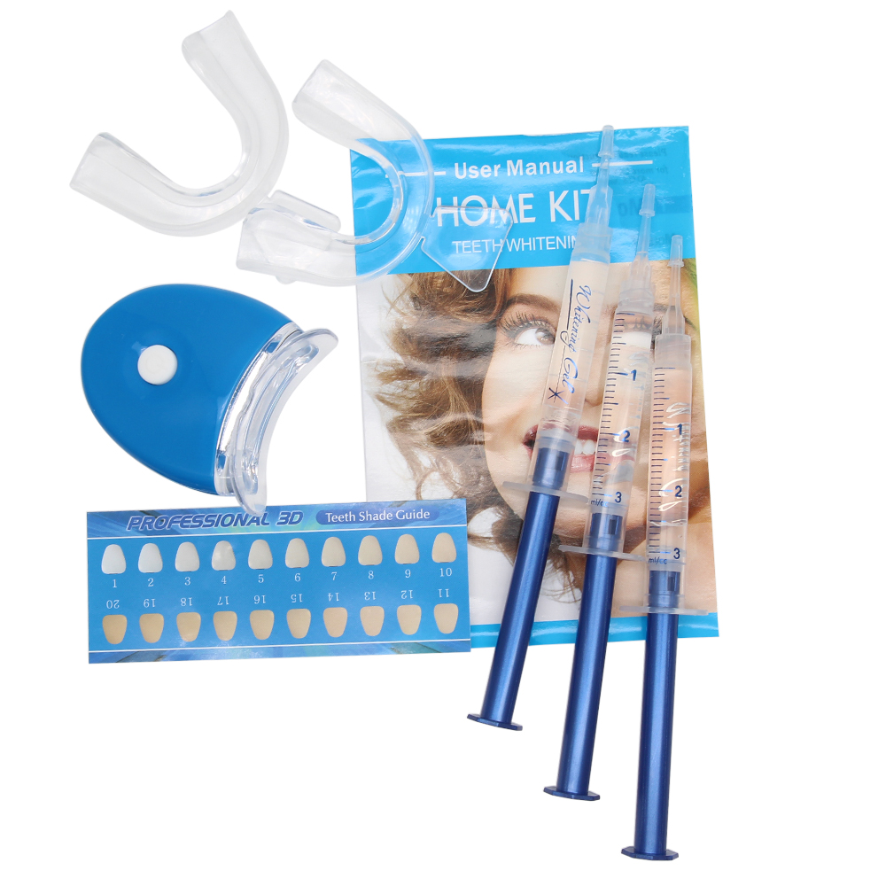 Genkent 3D White Teeth Whitening Gels Strong Home Teeth Whitener Kit - Higiene oral - foto 2