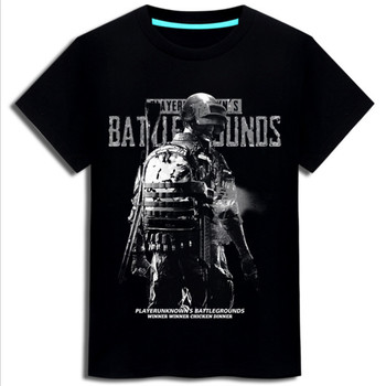 New PUBG/PLAYER UNKNOWN'S BATTLEGROUNDS t shirt game fans gift boy friend gift short sleeve PUBG T SHIRTS hot game concept tee