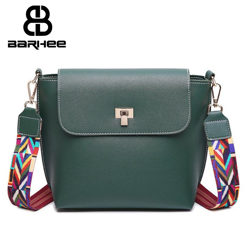 Tribal Colorful Strap Women PU Leather Crossbody Bag Girls Shoulder Bag Small Messenger Bags Design bolsa feminina Flap Handbag