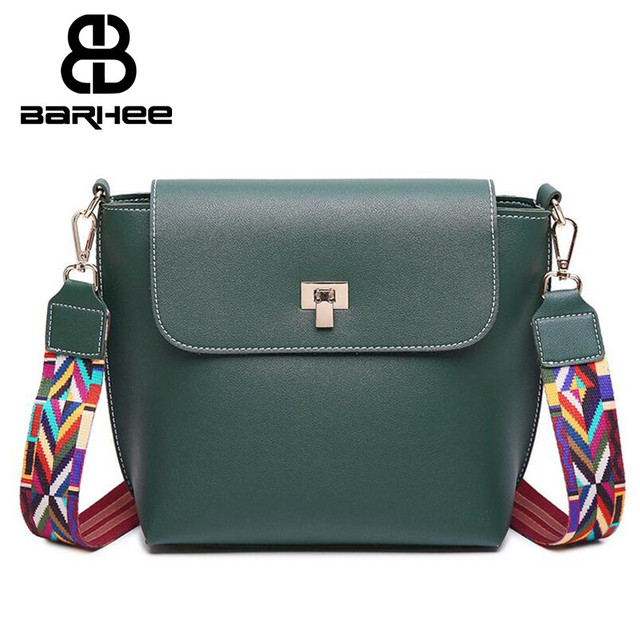98e0ca5078b1 Tribal Colorful Strap Women PU Leather Crossbody Bag Girls Shoulder Bag  Small Messenger Bags Design bolsa feminina Flap Handbag