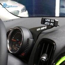 Скорость полета-серый Юнион кронштейн для Mini Cooper F55 F56 F54 аксессуары авто телефон владельца автомобиля мобильного телефона Tablet крепление нажмите
