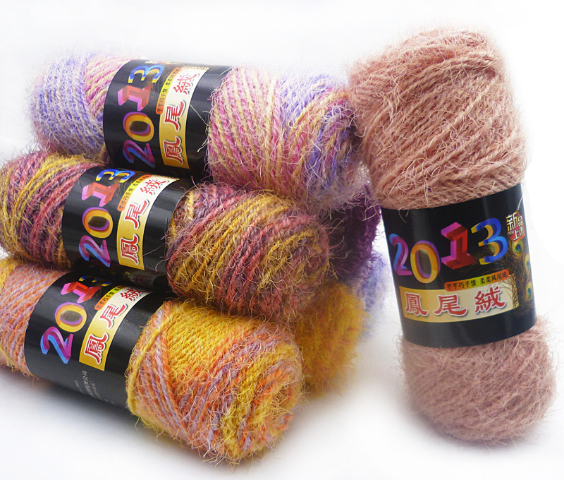 Knitting Work From Home : Cheap mohair blended yarn for knitting pcs baby