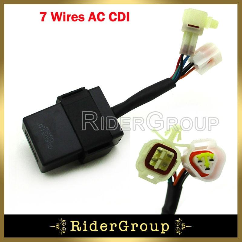 7 Wires AC Ignition CDI Box For Roketa ATV 10 Jianshe Mountain Lion ...