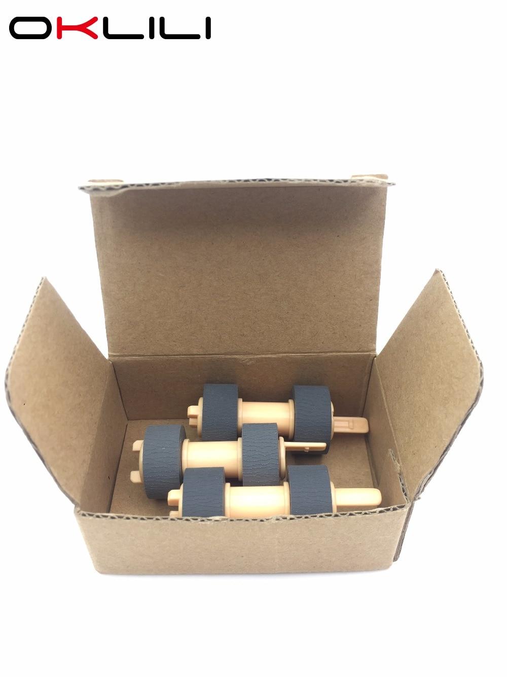 Paper Feed Kit Pickup Roller for OKI B6200 B6200N B6250N B6300 B6300N B6500 B6500N B710DN B710N for Xerox 4500 4510 7100DN 7100N 2set feed roller adf pickup roller for samsung scx4521 scx4720 scx4725 scx5530 scx5635 scx6345
