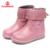 Flamingo 2016 nueva colección otoño moda infantil botas altas de alta calidad antideslizante zapatos de los niños para las muchachas w6xy173/174