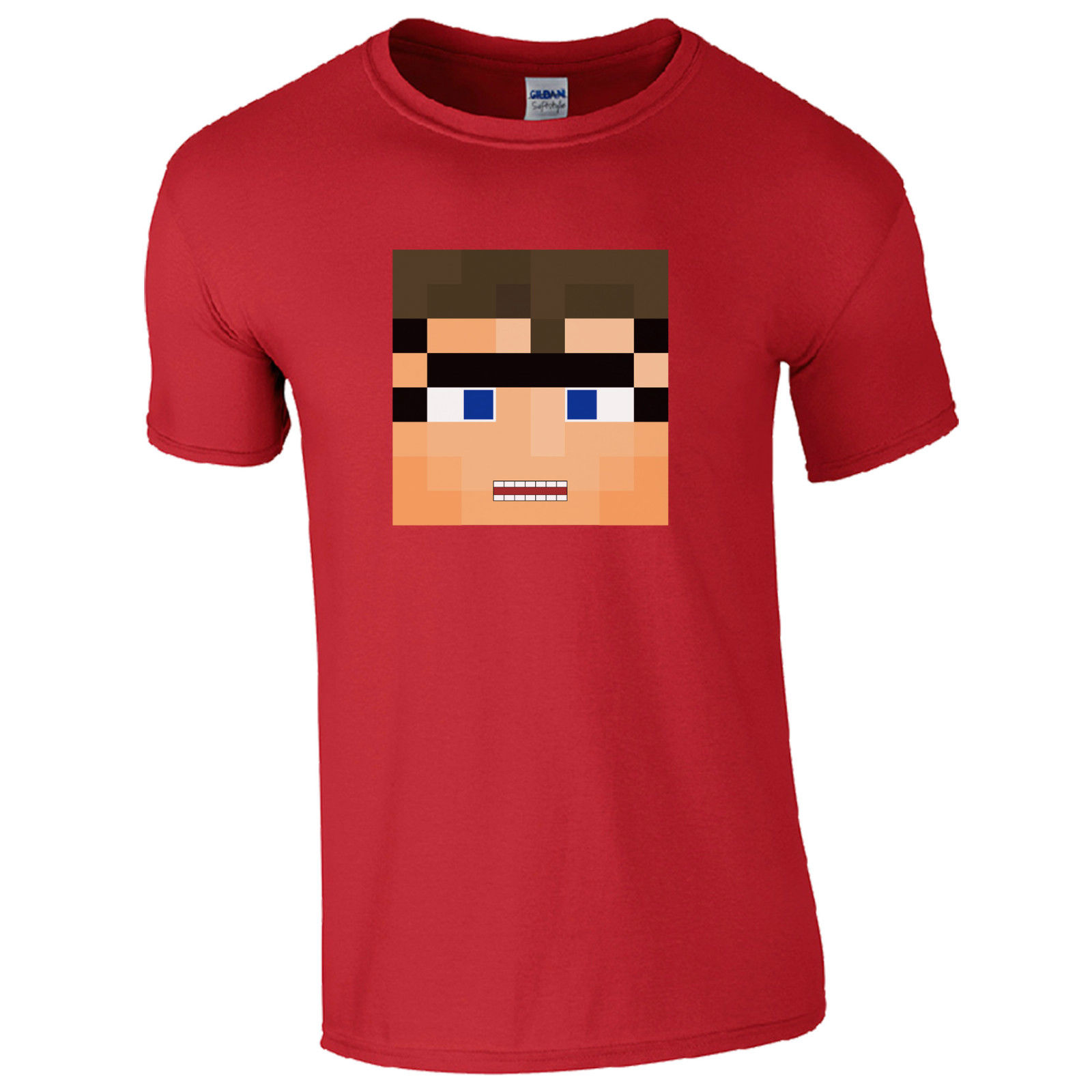 SkyDoes T-Shirt - Sky Inspired Roleplay Gaming YouTube Kids Men Gamers Gift Top Short Sleeve Round Neck T Shirt Promotion