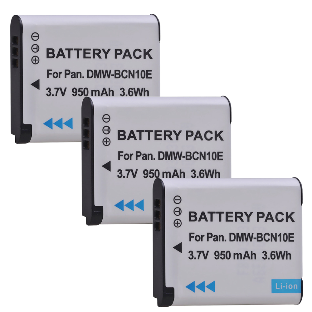 dmw-bcn10pp Lumix dmc-lf1w BATERIA para Panasonic Lumix dmc-lf1