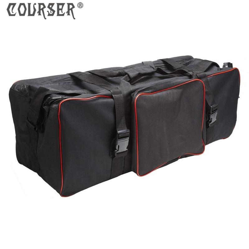 Photo Video Studio Kits Bag Black Large Carrying Bag Studio kit Case 29.53 x 10.24 x 10.24