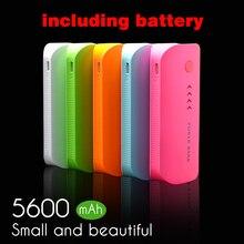 Перо Форма 5600 мАч Мощность банк Портативный Зарядное устройство для мобильного телефона Батарея Зарядное устройство Внешний Батарея для всех мобильных телефонов