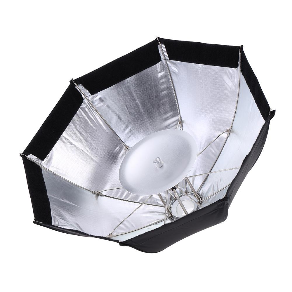 Prix pour Godox s7 48 cm portable pliable octogone photographie softbox parapluie kit d'éclairage pour witstro ad360 ad180 série flash