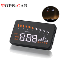 GEYIREN X5 Car HUD  OBD II Head-Up Display Overspeed Warning System Projector Windshield Auto Electronic Voltage Alarm