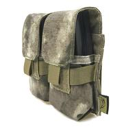 FLYYE MOLLE Double M14 Mag Pouch Military camping modular combat CORDURA M009