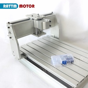 Image 2 - EU Ship free VAT DIY 3040 CNC router Engraver Engraving milling machine mechanical aluminium Frame SFU1204 ballscrew CNC Kit