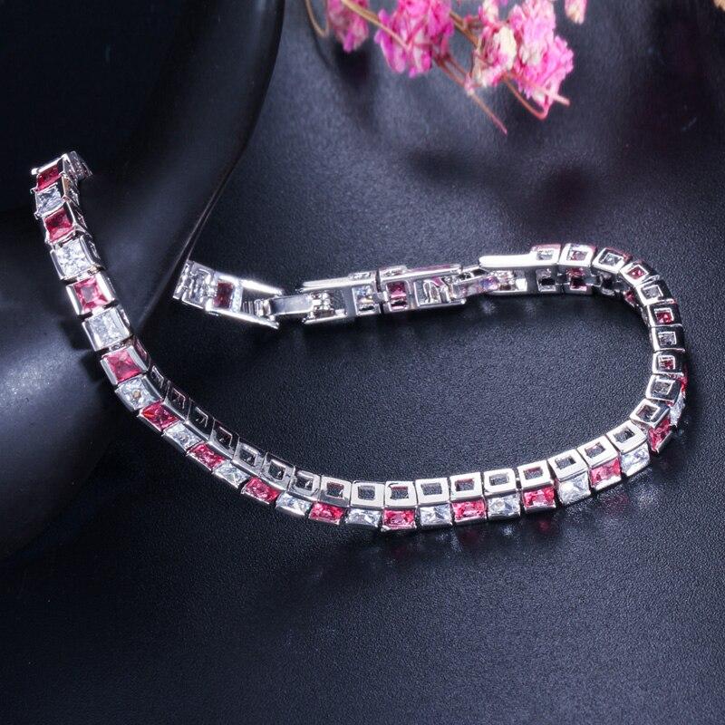 Pera 925 Sterling Sølv Kvinder Smykker Østrigsk Mørkeblå Stor - Mode smykker - Foto 5