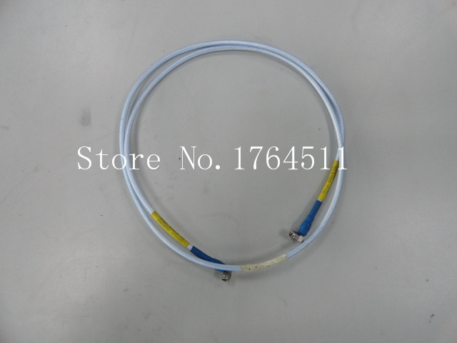 [BELLA] SUHNER SUCOFLEX 104 SMA Male To SMA Male Head Test Cable 1.4m