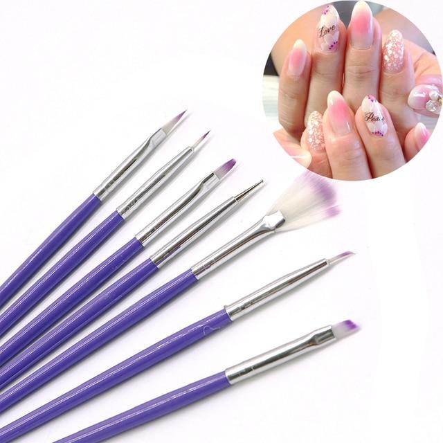 14Pcs Nail Art Brushes Nail Polish Drawing Painting Pens Nail Brush ...