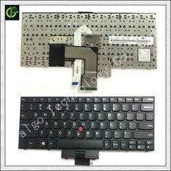 Angielska klawiatura dla THINKPAD E220 E130 X121 X130 X131E X140E X140 E125 X131 krawędzi 11 12 E120 E135 E220S S220 X121E X130E E145 z nami w Zamienne klawiatury od Komputer i biuro na