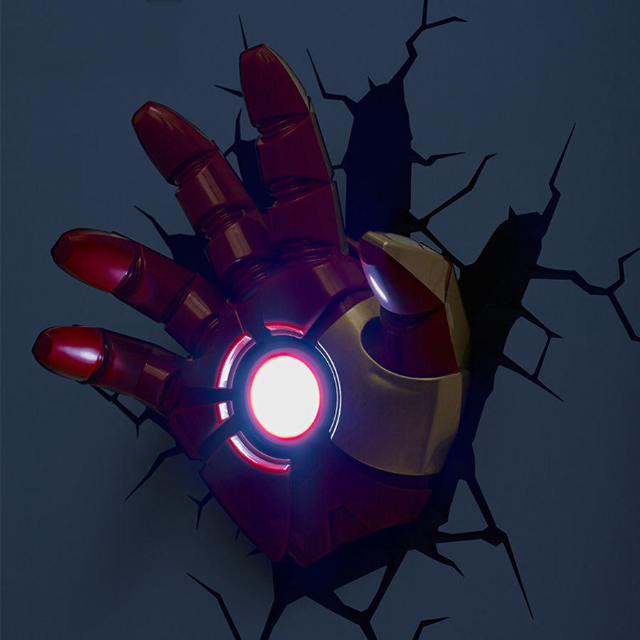 Light images 3d wall lights avengers light images 3d wall lights avengers creative marvel iron man shape 3d wall lamp avengers alliance aloadofball Images