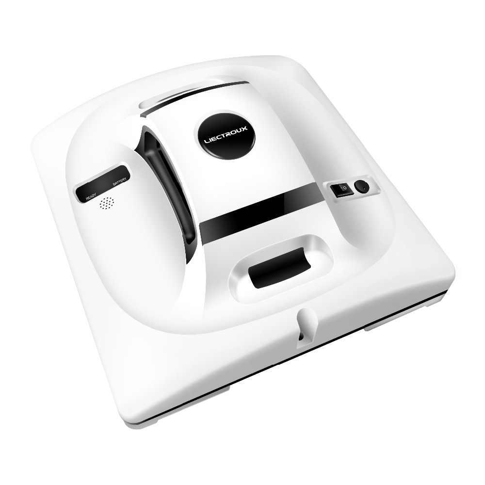 Robot aspiradora de ventanas Liectroux X6 con Sensor de presión y láser, fregona de cristal para coche, Robot de limpieza de paredes para ventanas de suelo y hogar