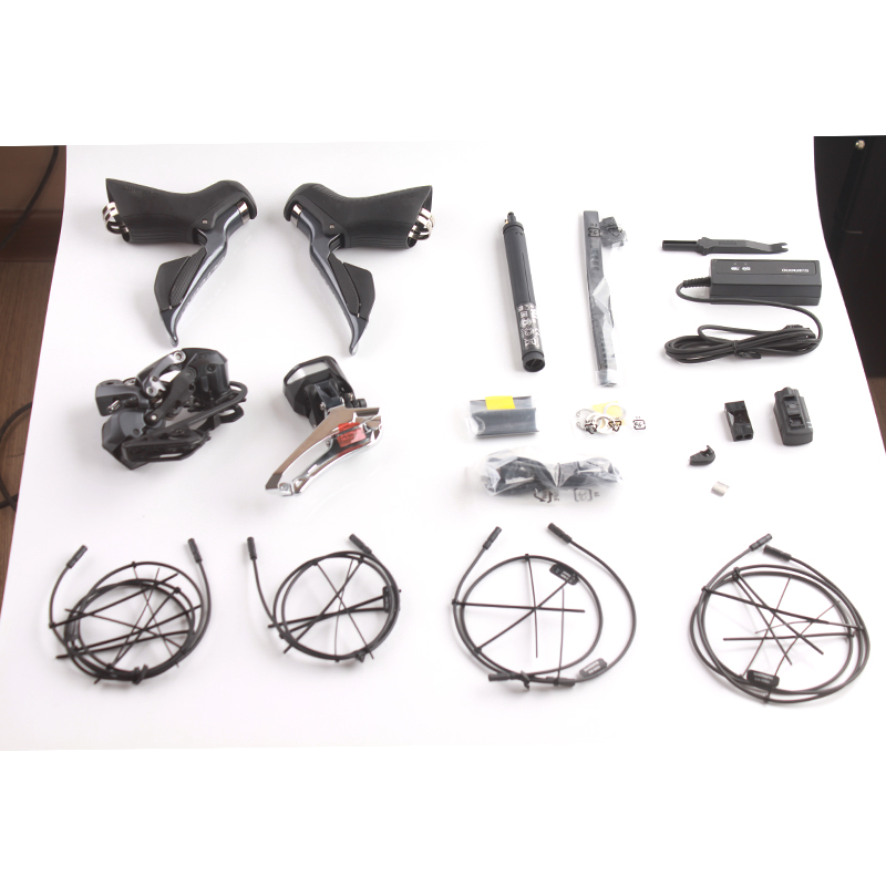 Shimano ULTEGRA 2x11S Speeds R8000 R8050 Di2 Electric Parts Road Bicycle Groupset Bike Kit Include All Electronic Parts цена