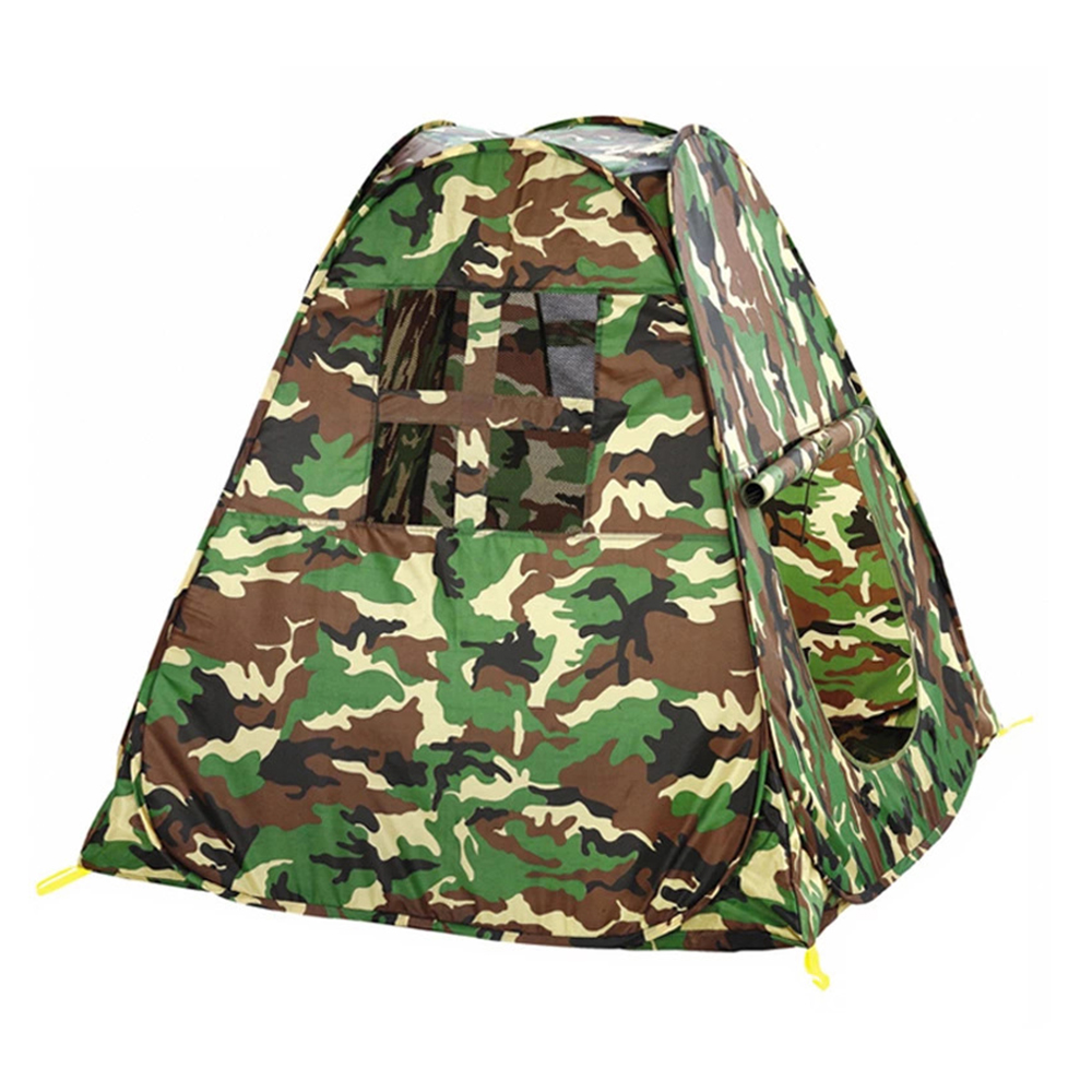 Army Green Boys Play Tent Portable Kids Toy Tents Portable Big Size Children Play Hut Outdoor Game Room children s toy crossbow with infrared white army green