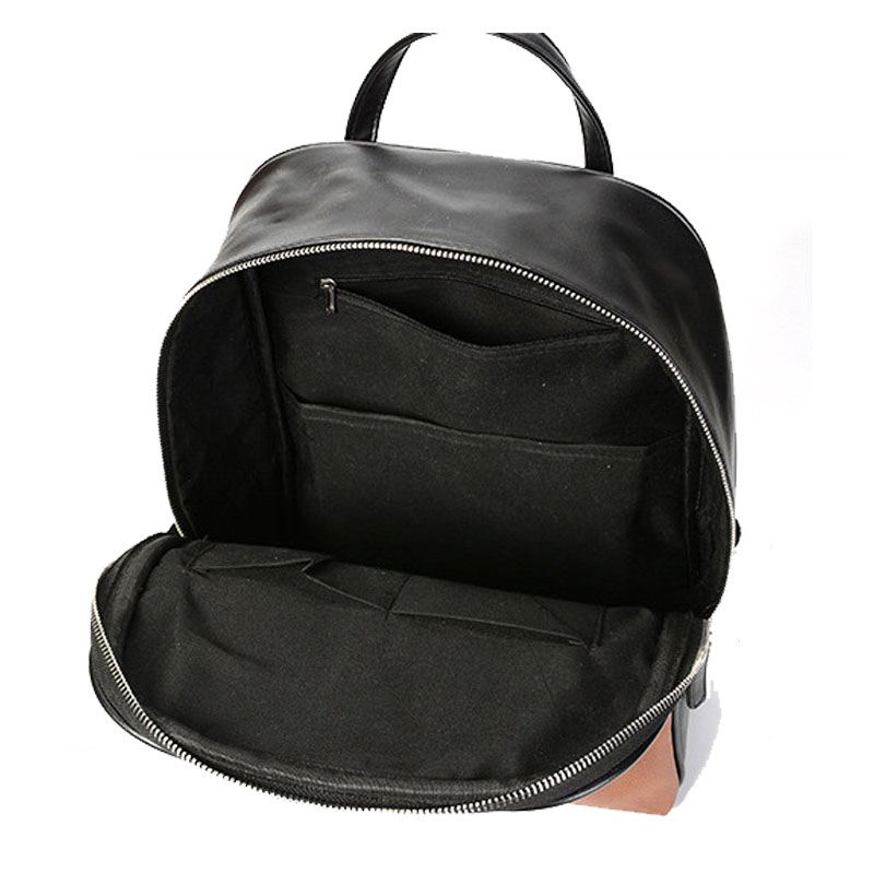 287b5de8bcb9 Chuwanglin New leather backpacks fashion male backpack simple school bags  14 inch Laptop bag mochilas mujer 2018 A50201-in Backpacks from Luggage   Bags  on ...