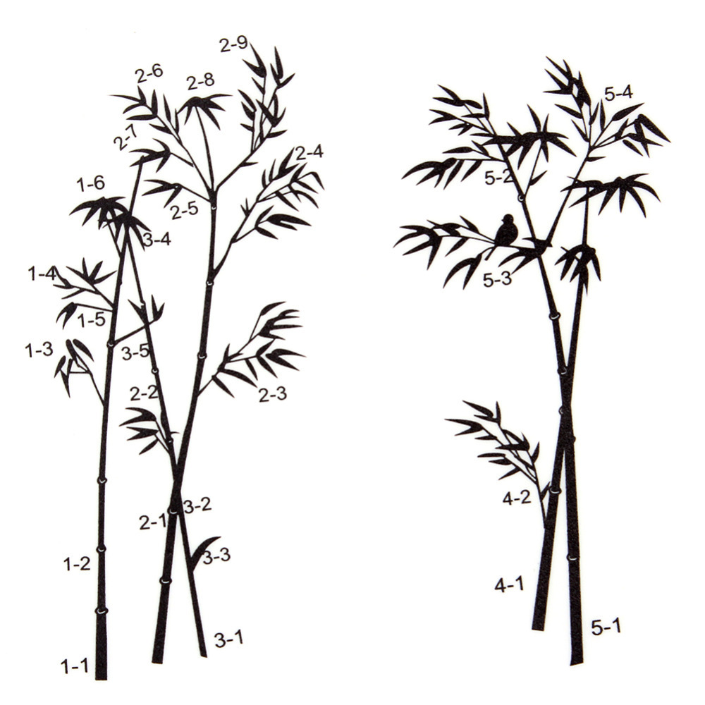 Bamboo wall decals murals images home wall decoration ideas diy art black bamboo quote wall stickers decal mural wall sticker diy art black bamboo quote amipublicfo Gallery