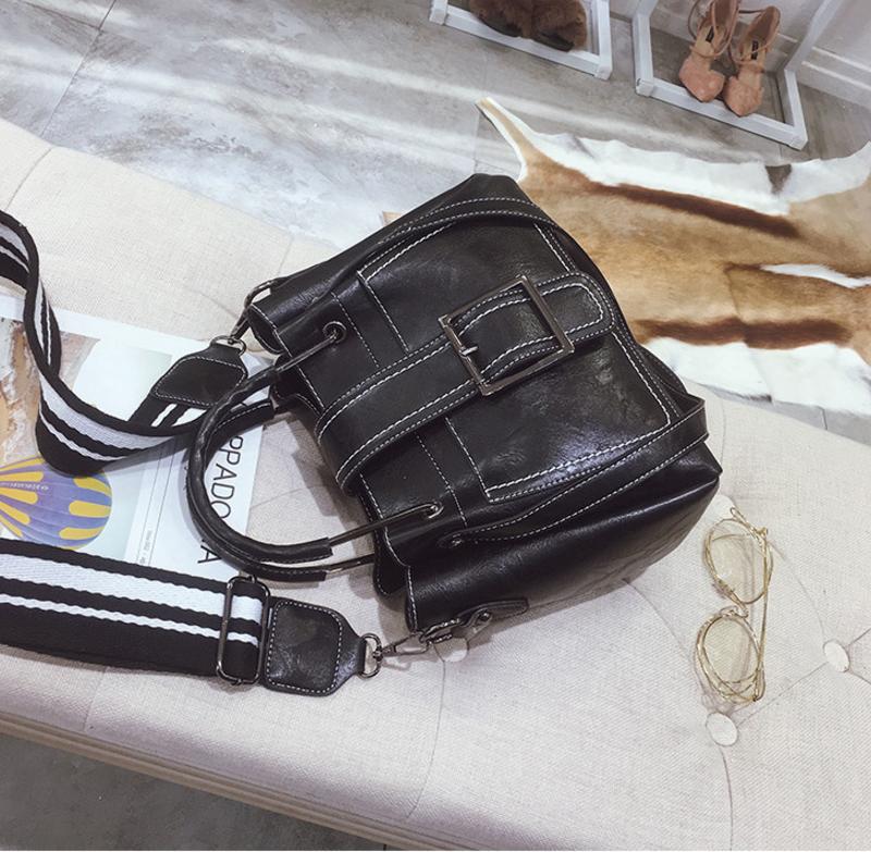 New European and American style vintage PU women handbag shoulder bag messenger bag 96